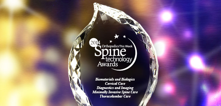 G-Arm awarded Best New Spine Technology 2014 at NASS