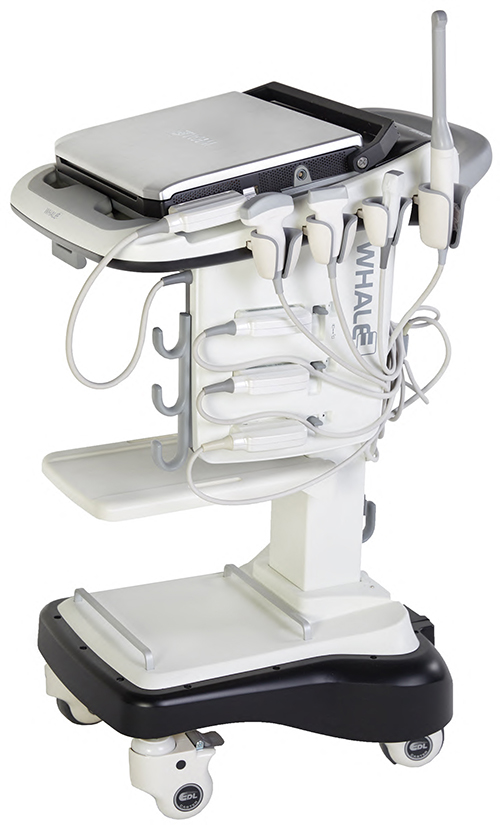 Mobile Ultrasound Cart Unit