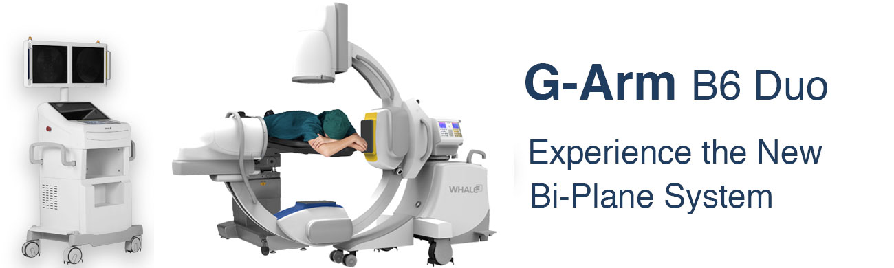 Whale Imaging G-Arm surgical imaging and ultrasound systems